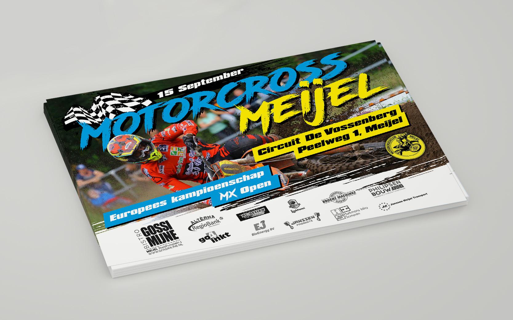 Poster ontwerp - Motorcross