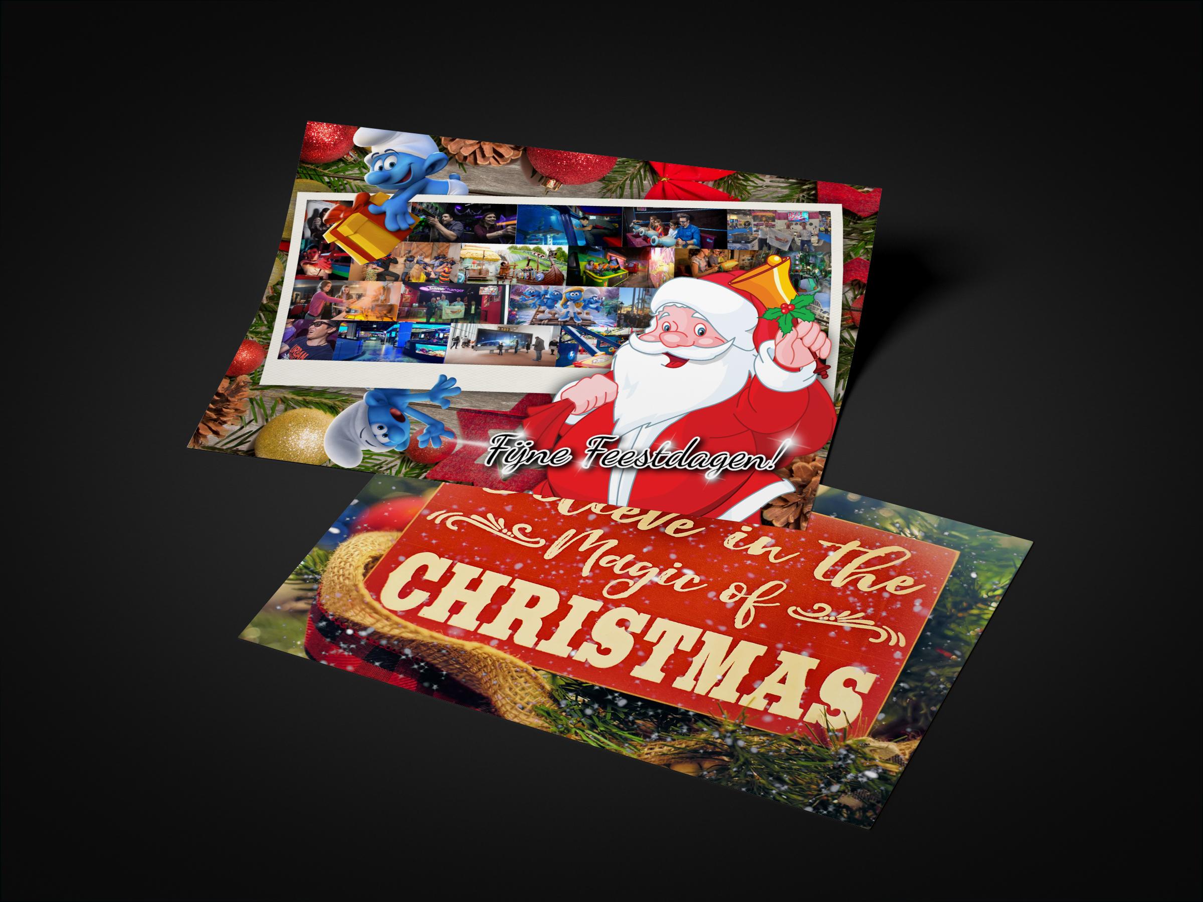 Kerstkaarten laten ontwerpen