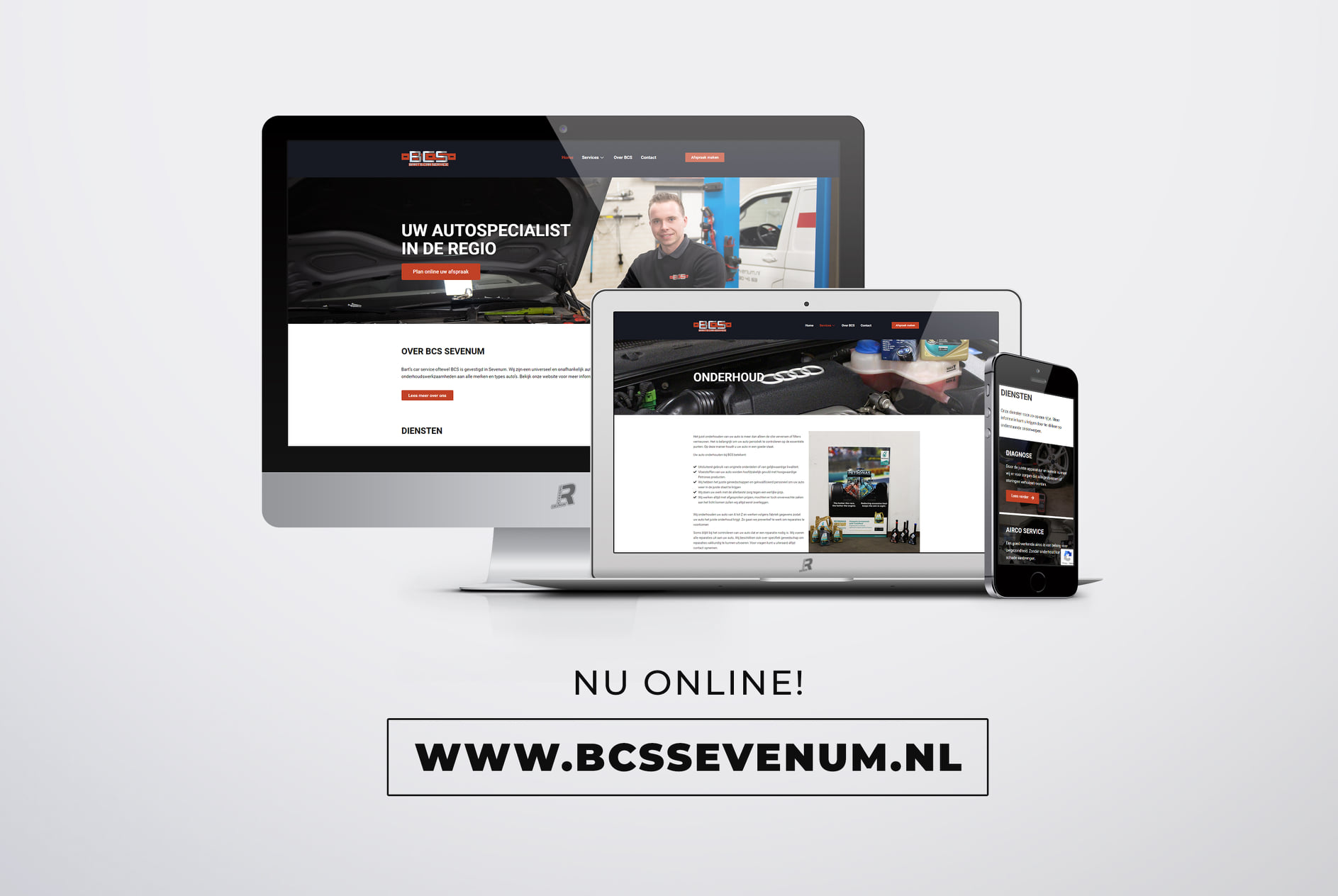 Webdesign bcs sevenum