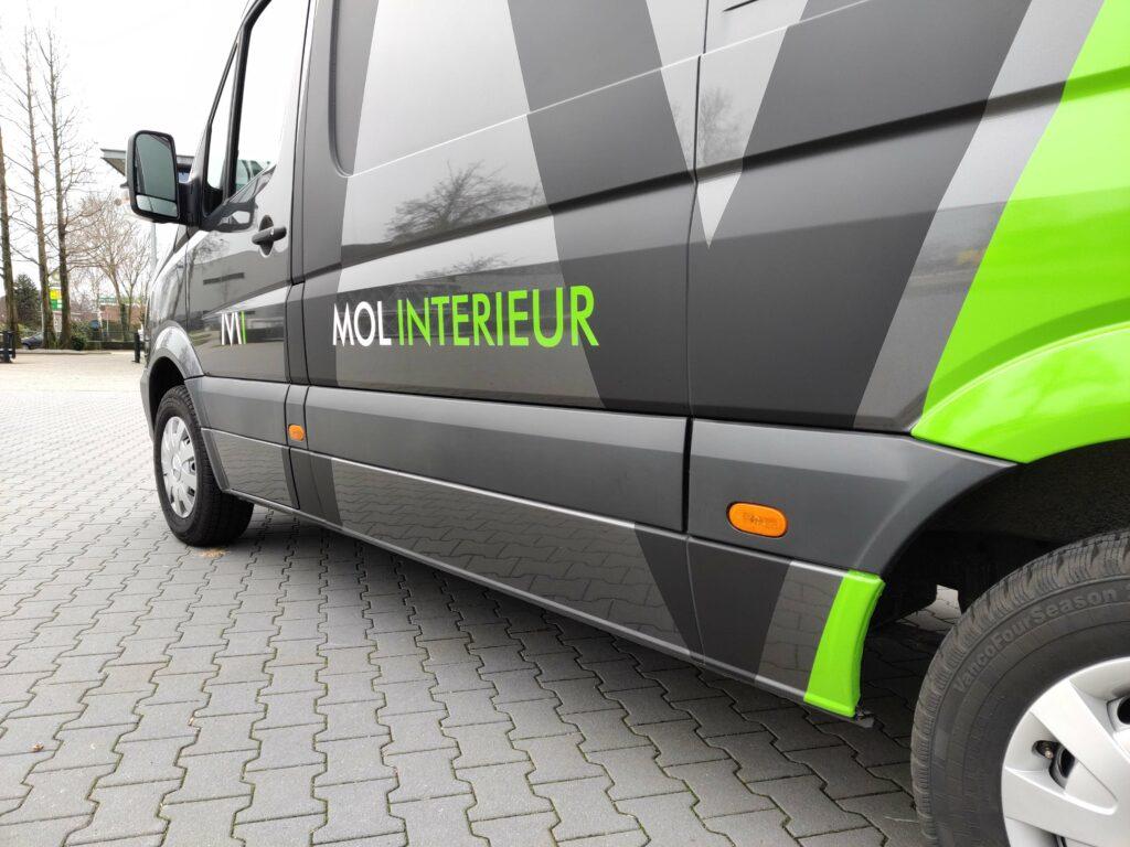 Bedrijfswagen ontwerp Mol Interieur