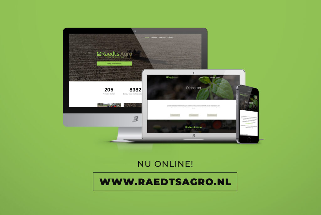 Nieuwe website voor Raedts Agro