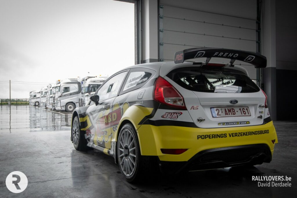 Rally Race Design voor Steve Becaert