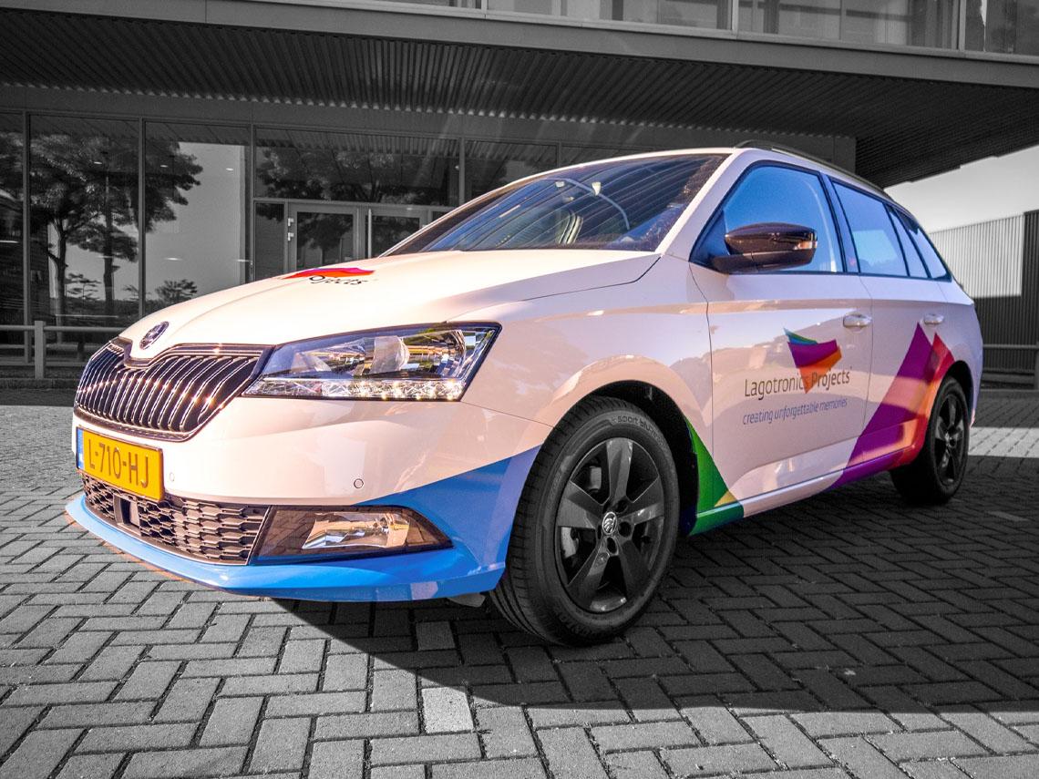 Bedrijfsauto ontwerp - Lagotronics Projects