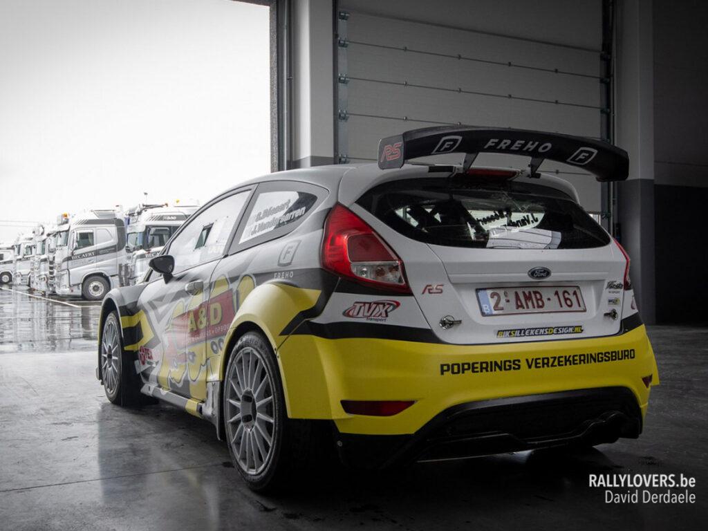Rally auto ontwerper