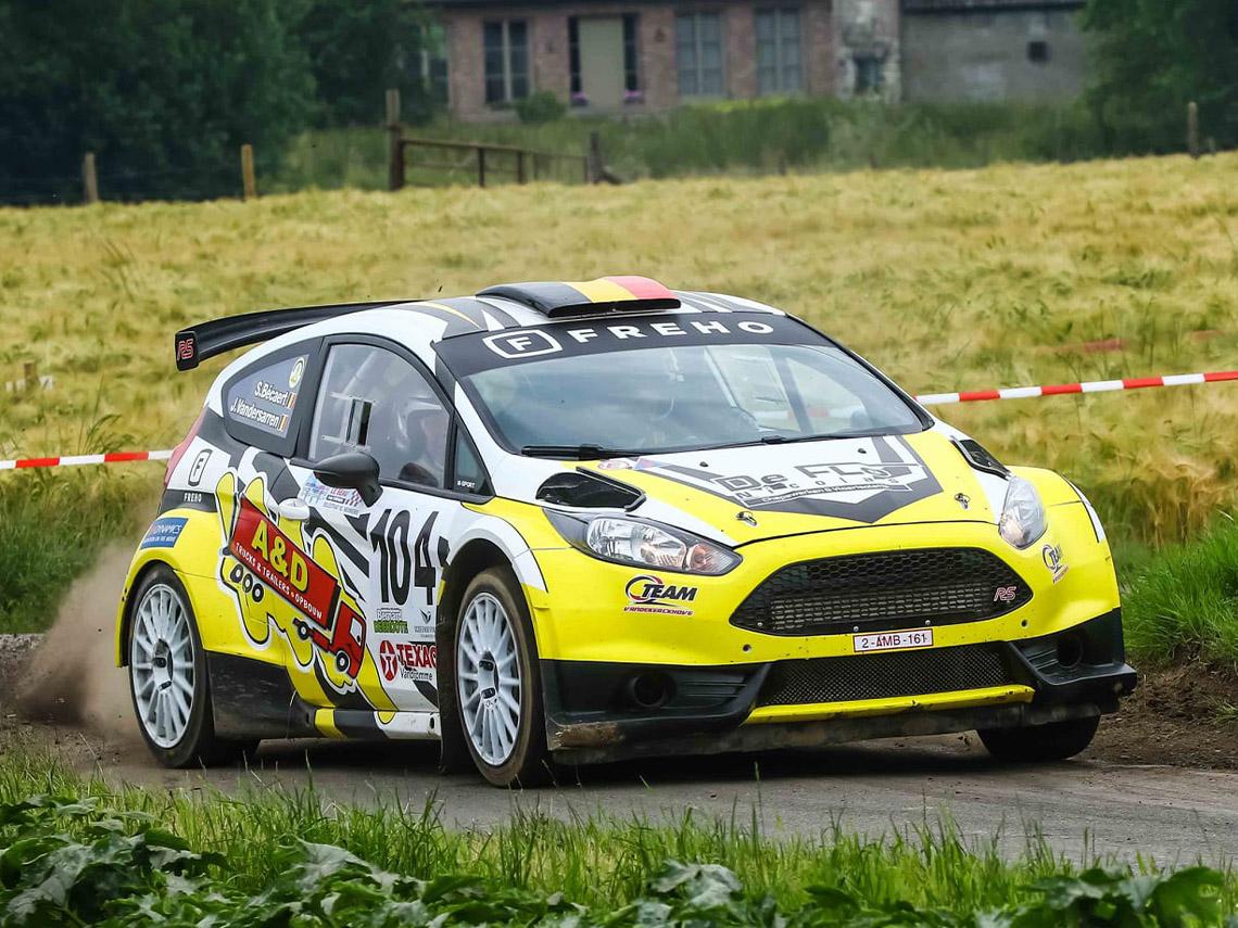 Rally auto ontwerper Nederland