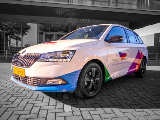 Bedrijfswagen ontwerp - Lagotronics Projects