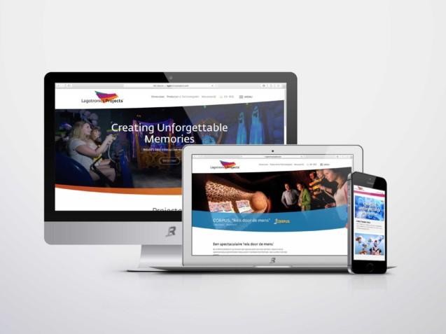 Website ontwerp Lagotronics Projects