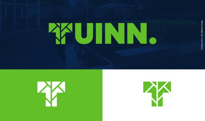 Huisstijl en logo voor hoveniersbedrijf TUINN.