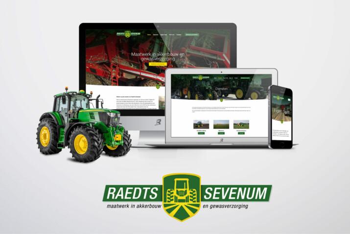 Raedts Sevenum website door Rik Sillekens Design
